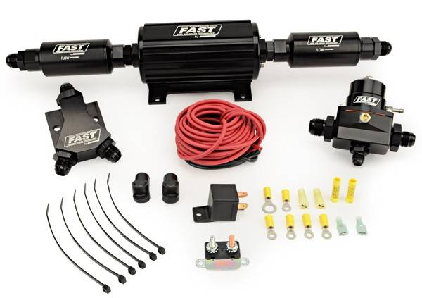 F.A.S.T. - FAST Race In-Line Fuel System; Up to-1300HP Naturally Aspirated (UP-TO-1200 FORCED INDUCTION) FAS-30700