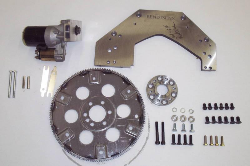 Bendtsen - Bendtsen Pontiac Adaptor Kit- to Move Starter Mount From Trans BTC-P010002