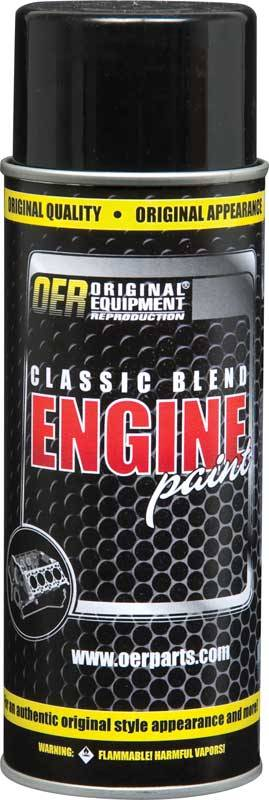 Butler Performance - 1975-77 GM Strato Blue Metallic OER Classic Blend Engine Paint - 16 Oz, BPI-K89140