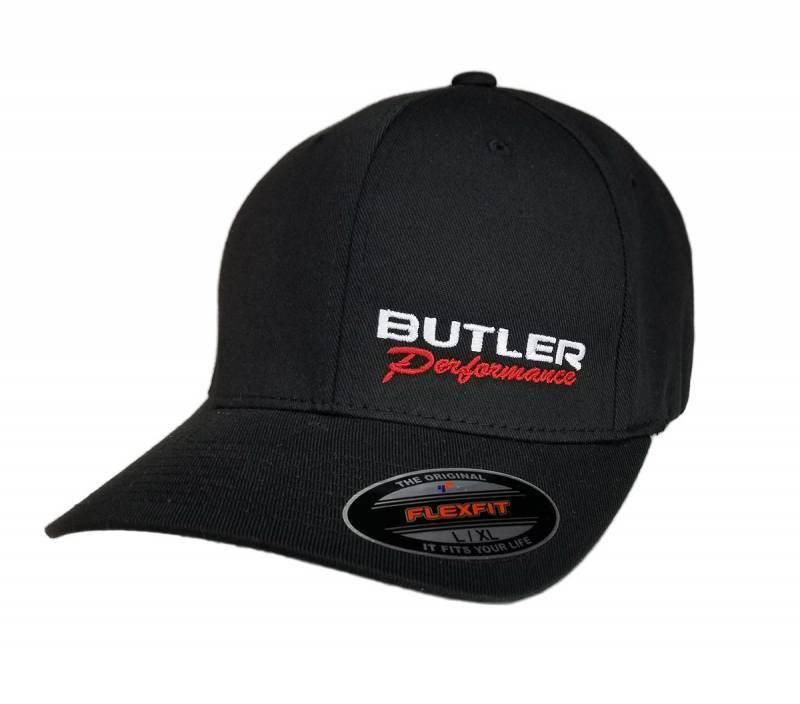 Butler Performance - Butler Performance Hat, Black, (Flexfit),BPI-HAT-6277-BK
