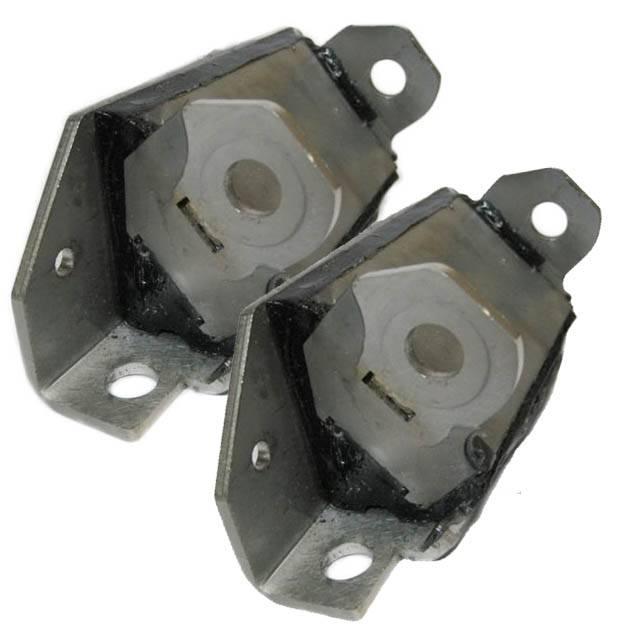Butler Performance - Butler Performance Pontiac Polyurethane/Stainless Steel Interlocking Engine Mount, 64-72 GTO, Set BPI-2255-6P