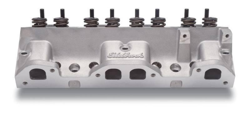 Edelbrock - Edelbrock Round Port Pontiac 87cc CylinderHeads,Hyd. Roller(Pair)EDL-60575-2