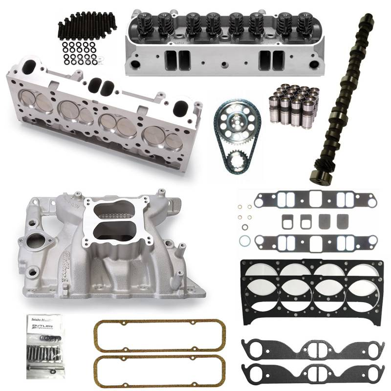 Butler Performance - Butler Edelbrock D-Port, 87cc, Hyd. FT. Top End Package BPI-TEP-DP-87FT