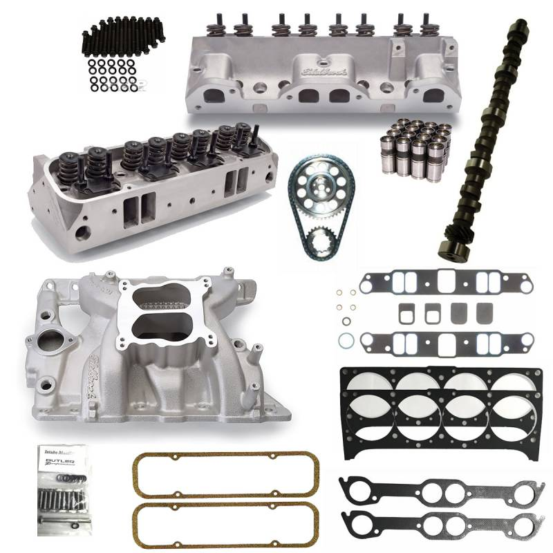 Butler Performance - Butler Edelbrock Rd-Port, 87cc, Hyd. FT. Top End Package BPI-TEP-RD-87FT