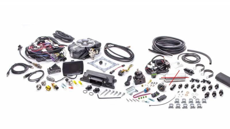 F.A.S.T. - FASTEZ-EFI 2.0® Self Tuning EFISystemw/Inline Fuel System Kit (No Pump) FAS-30402-KIT-NP