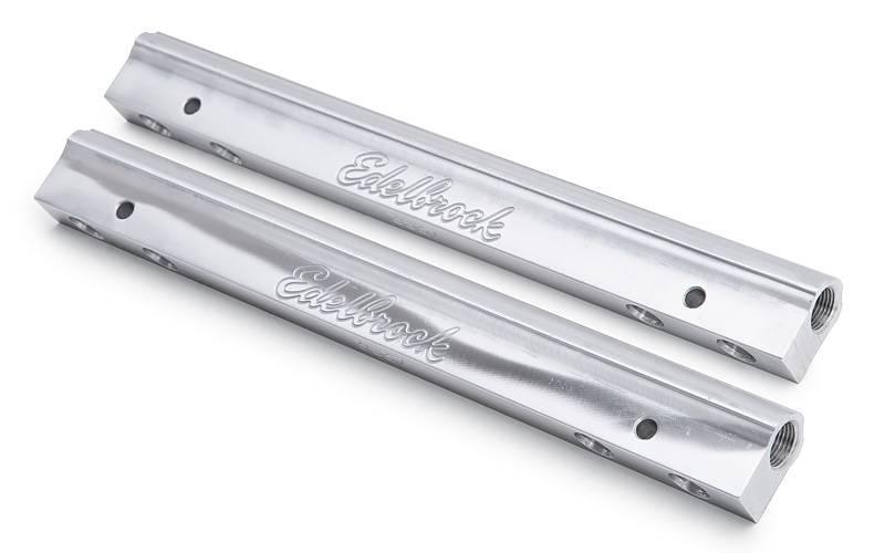 Edelbrock - Edelbrock Super Victor Pontiac EFI Fuel Rail Kit (standard or Pico injectors) EDL-3634