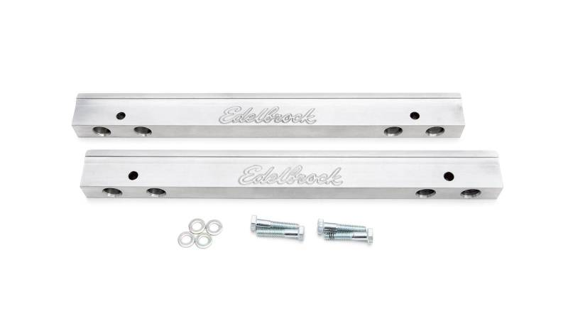 Edelbrock - Edelbrock Pontiac EFI Fuel Rail Kit for TorkerII Manifold (Intake # 50565) EDL-3637