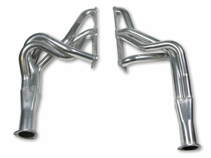 "Hooker Headers - Hooker HeadersSuperCompetition Series Headers, Ceramic Coated, 67-69 Firebird/Trans Am, 72-74 Ventura/Phoenix, 74 GTO: 326-455, Tube 1.75"" x 28"", CollectorSize 3"" HKR-4107-1HKR"