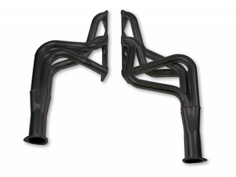 """Hooker Headers - Hooker Headers Super Competition Series Headers, Black Ceramic Coated, 70-79 Pontiac Firebird/Trans Am, 64-75 GTO/Le Mans/Grand Am: 350-455, Tube Size 1.625"""" O.D. x 28"""", Collector Size 3"""" O.D.HKR-4901-3HKR"""