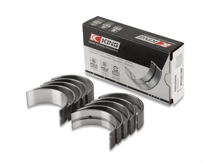 King Racing Bearings - King Racing AM Main Bearings,265-301, STD, Set, KBE-MB5517AM-STD