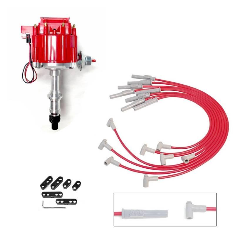 Butler Performance - Pontiac Distributor and Wire Kit, HEI, RPC-KIT