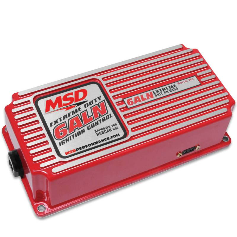 MSD Performance - MSD Red 6AL Analog Ignition Box w/ Built in Rev Limiter, Red MSD-6430
