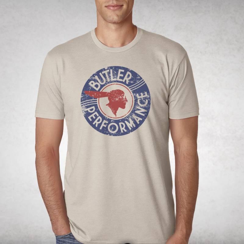 Butler Performance - Butler Vintage Tan Service T-Shirt, Small-4XLBPI-TS-BP1607T