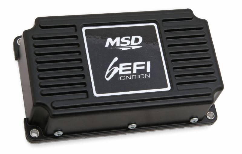 MSD Performance - MSD 6EFI Digital Ignition Box w/ Rev Limiter, Black MSD-6415