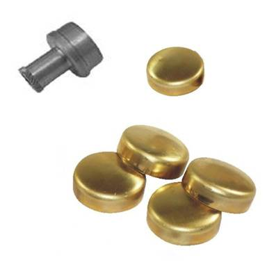 Butler Performance Brass Freeze Plug Kit For Cast Iron