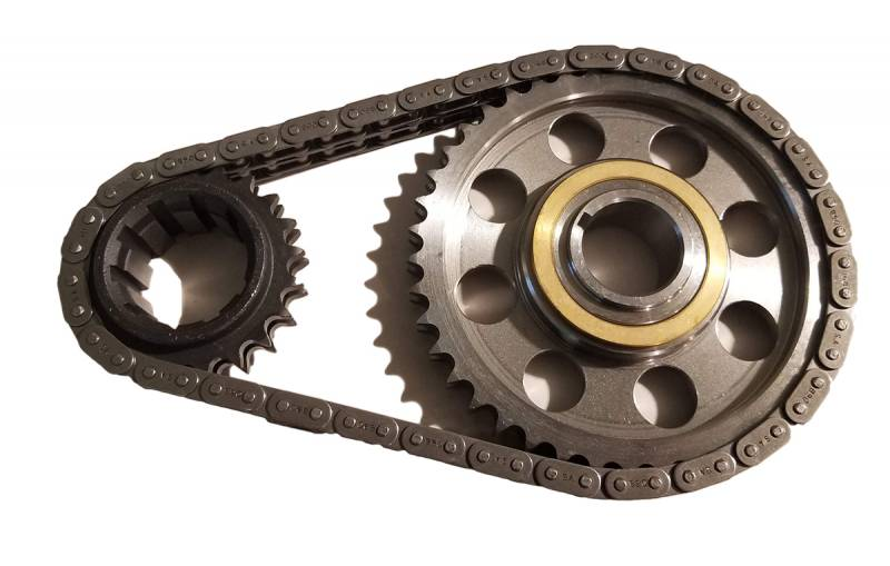 Butler Performance - Butler Pro Billet Pontiac Timing Set Billet Gears 9 Keyway Crank Sprocket .005 Short