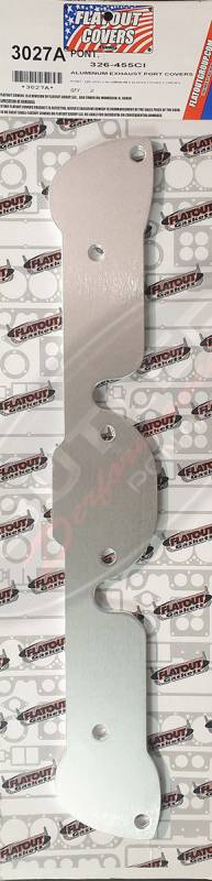 Flatout - Pontiac 326-455CI Aluminum Exhaust Port Covers Set/2