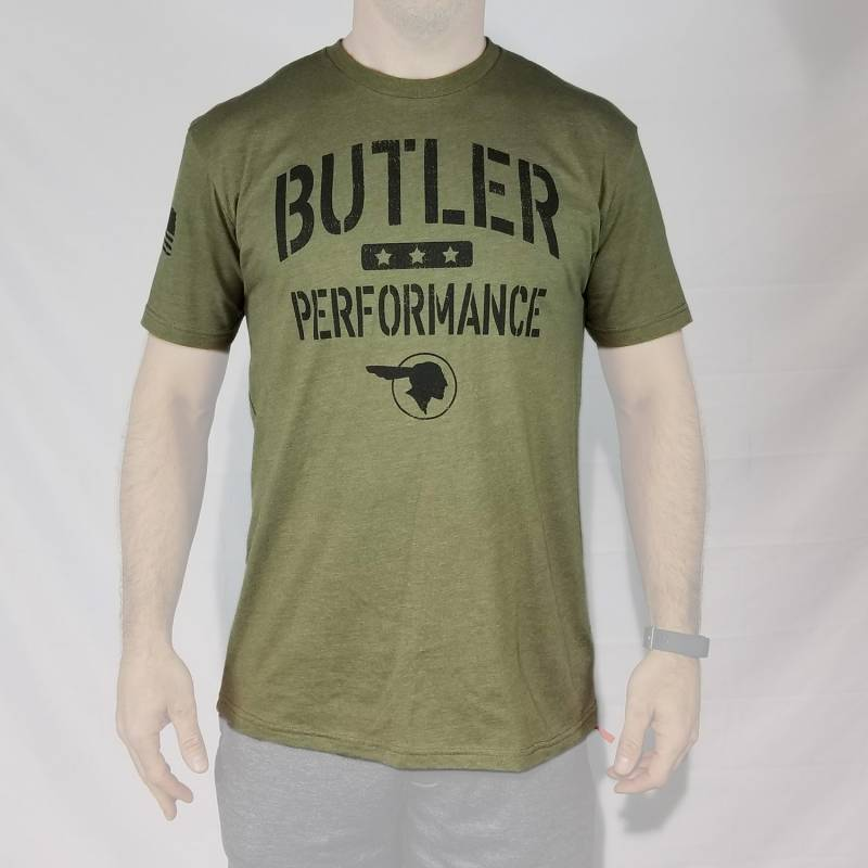 Butler Performance - Butler Military T-Shirt, Small-4XL BPI-TS-BP1613