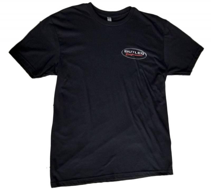 Butler Performance - Butler Black Logo T-Shirt, Small-4XLBPI-TS-BP1612