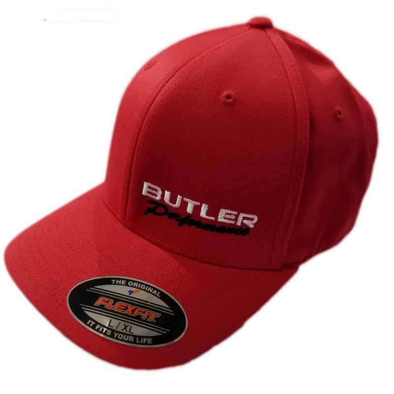 Butler Performance - Butler Performance Hat, Red, (Flexfit), BPI-HAT-6277-RD