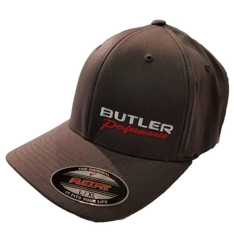 Butler Performance - Butler Performance Hat, Grey, (Flexfit),BPI-HAT-6277-DK-GR