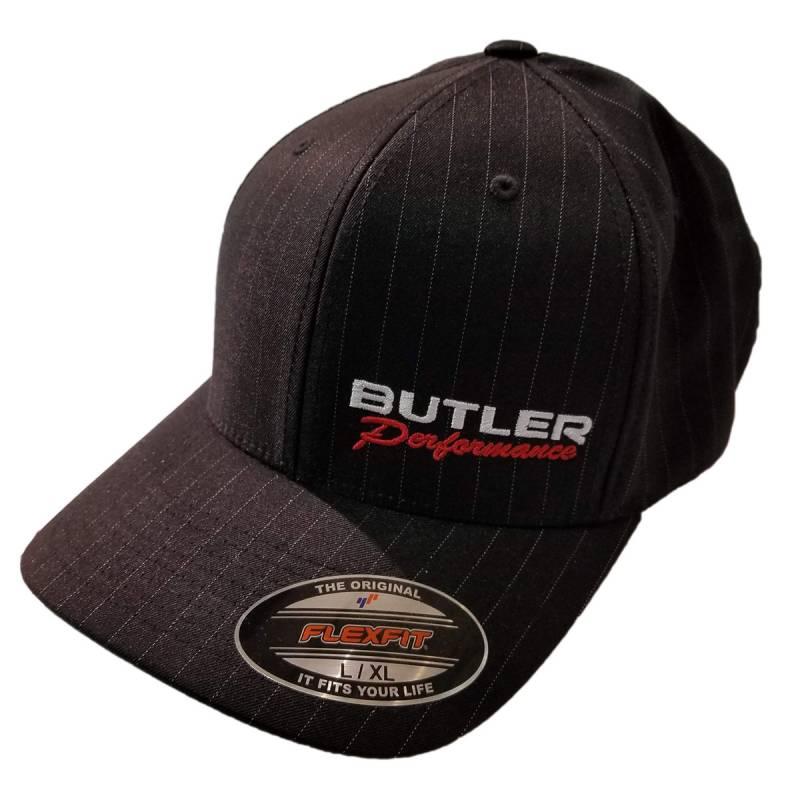 Butler Performance - Butler Performance Hat, Black, w/ Pinstripe (Flexfit), BPI-HAT-6195P-BK