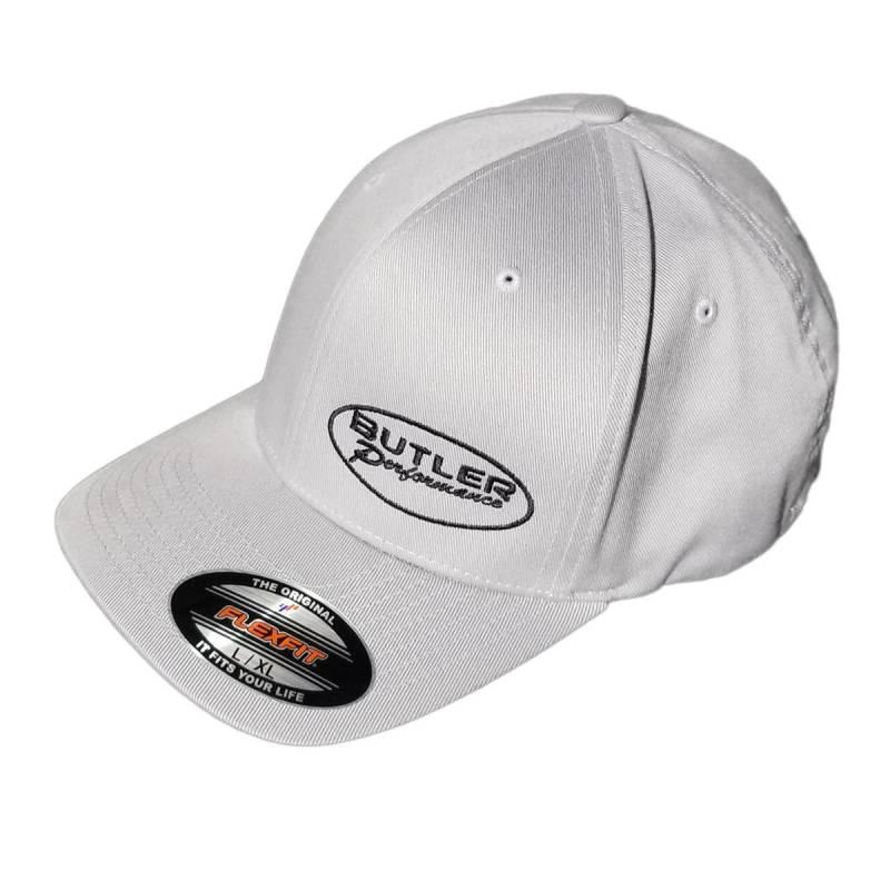 Butler Performance - Butler Performance Hat, Grey with Black Logo, (Flexfit),BPI-HAT-6277-MD-GR