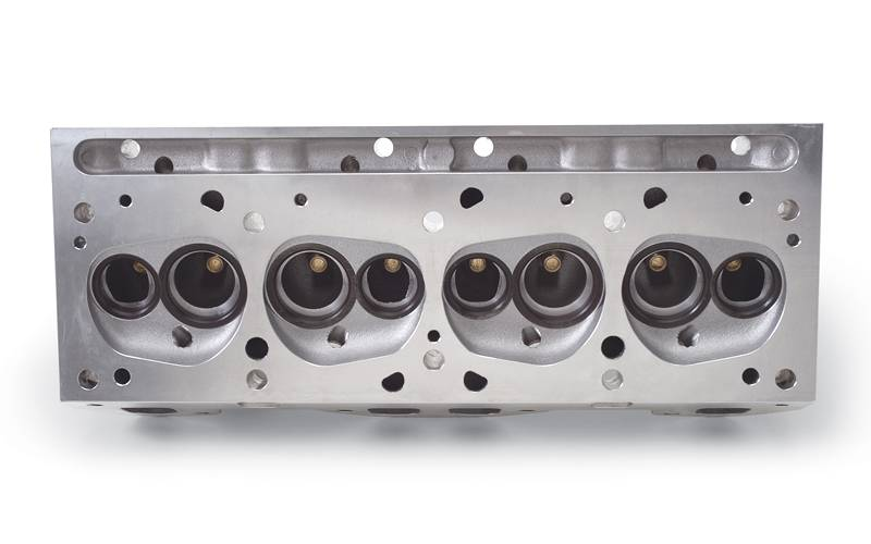 Edelbrock - Edelbrock Round Port Pontiac 72cc Semi-machined Heads, (Pair) EDL-60509