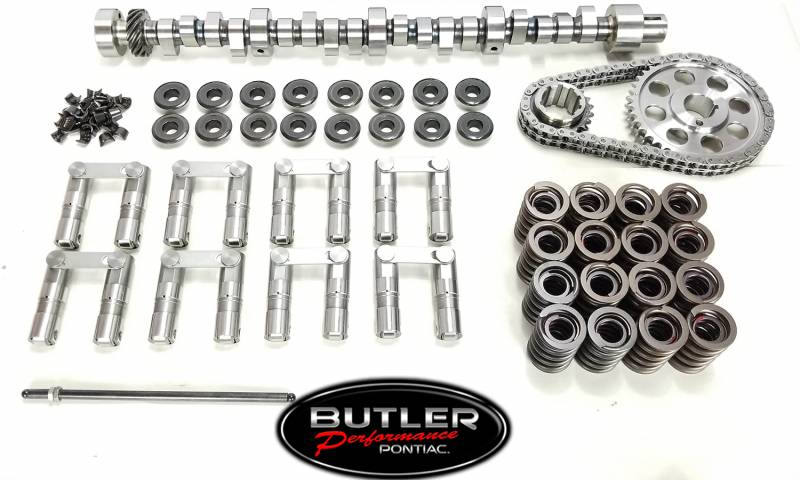Butler Performance - Butler/Comp Custom Cam & Lifter Master Kit Pontiac HR BPI-K-BP8010SP