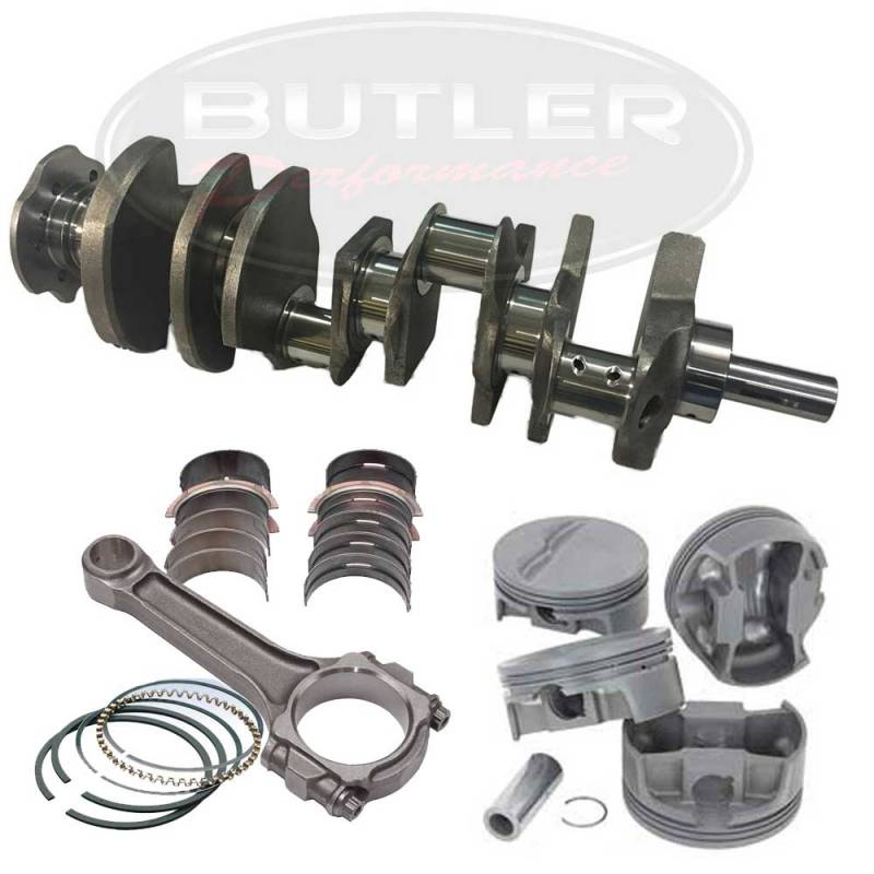 "Eagle Specialty - Eagle Flat Top 468 ci Street/Strip Balanced Rotating Assembly Stroker Kit, for 428/455 Block, 4.250"" str."