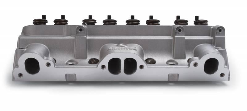 Butler Performance - Butler Built Edelbrock D-Port, 72cc, Hyd. Roller. Cylinder Head,Fast-Burn CNC Chambers,Set/2 BPI-61595BP-2