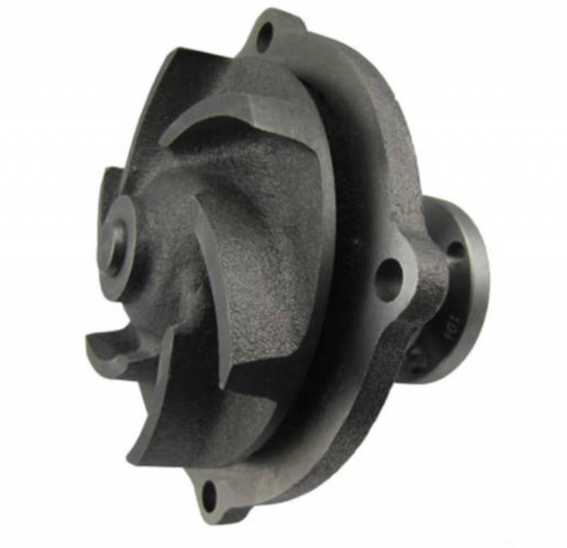 Butler Performance - Pontiac 4-Bolt 1955- Early 1963 Water Pump w/ Cast OEM Style Impeller APE-PN257A