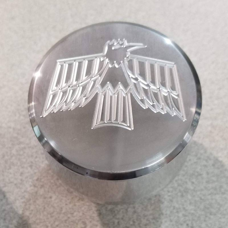 Butler Performance - Firebird 1st Gen Custom CNC Polished Aluminum Push-In Breather