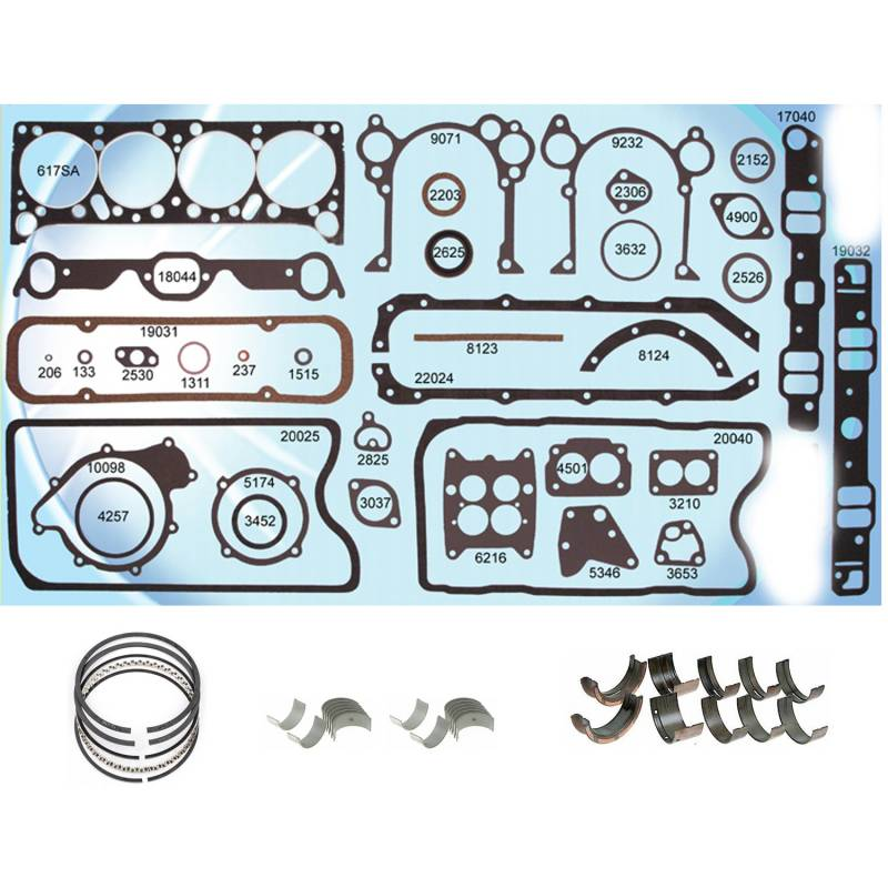 Butler Performance - Butler Pontiac 428 Re-Ring Kit