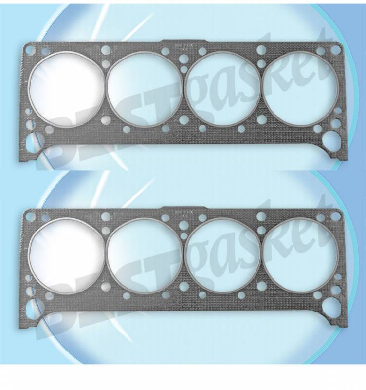 Best Gasket - PONT V8 350-455 Head Gasket 4.200 Bore, Set/2