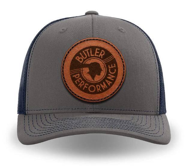 Butler Performance - Butler Service Patch Hat, Charcoal/Navy Adjustable