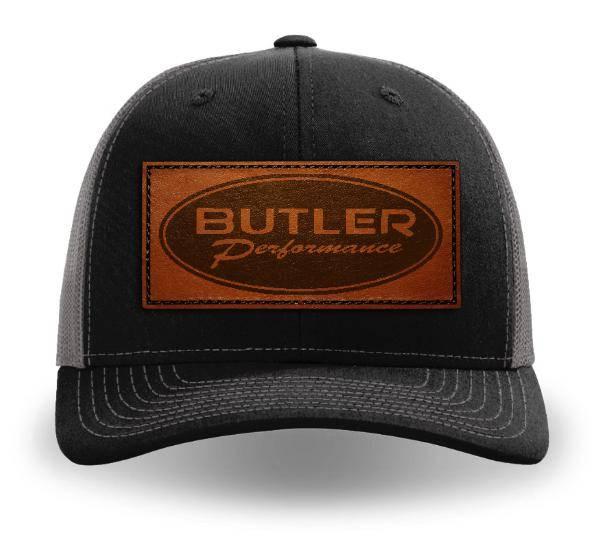 Butler Performance - Butler Performance Patch Hat, Black/Charcoal Adjustable