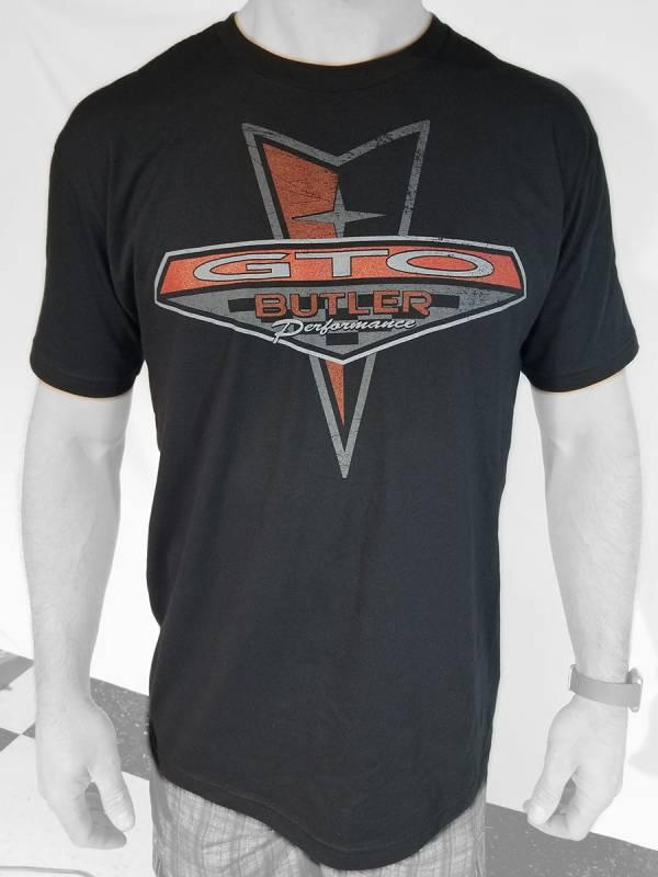 Butler Performance - Pontiac Retro GTO T-Shirt, Black, Small-4XLBPI-TS-BP1617