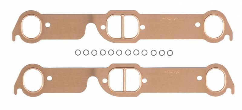 SCE Gaskets - MRG Pontiac 326-455 D-Port Pro Copper Header Gaskets (Set) MRG-7171MRG