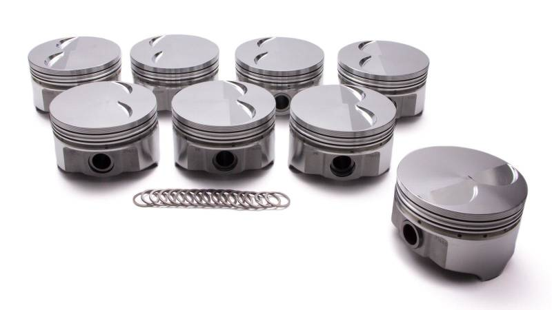 "Icon - Icon Forged -4.5cc Flat Top Pistons, 400, 3.75"" Str,"