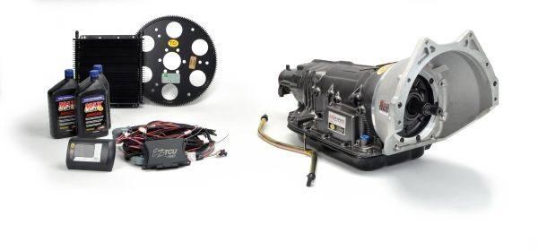TCI Automotive - TCI 6X Six Speed Transmission Package; Pontiac Bellhousing & Outlaw™ Shifter TCI-271701P18