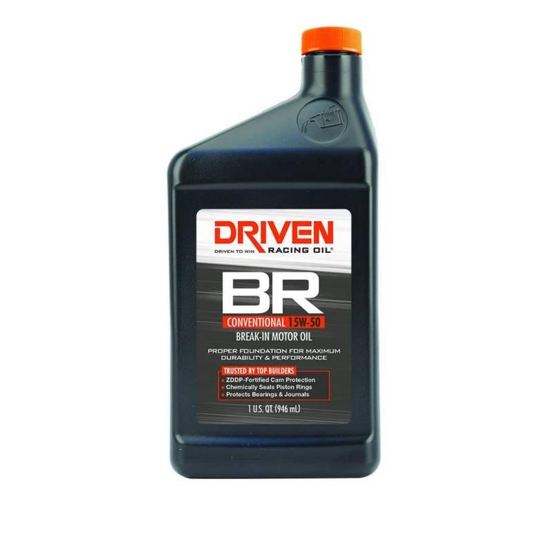 Driven - Driven BR Break-In Oil, 15w50, Quart