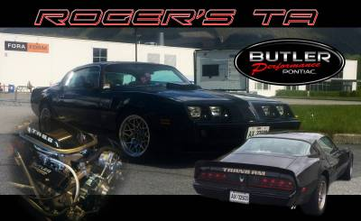 Roger Berkvik's  1979 Trans Am Cover