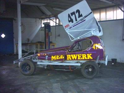 Thomas van Wanrooy's F1 Stockcar Cover