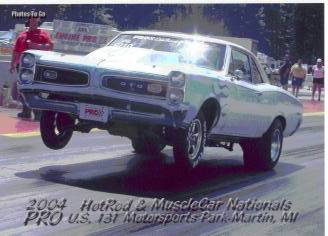 Tommy Thompson's 1966 GTO Cover
