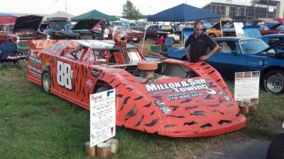 Ernie Millon's Late Model Racecar Cover
