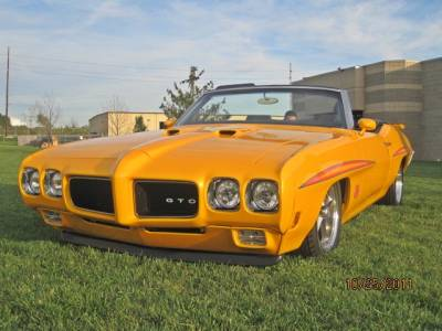 Pontiac GTO Judge Restomod Tribute Cover