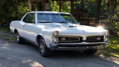 Glenn Taylor's 1967 GTO Cover