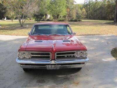 LARRY GATTIS' 1964 GTO Cover