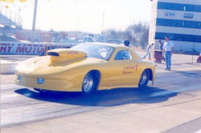 David Butler's 1996 Trans AM Cover
